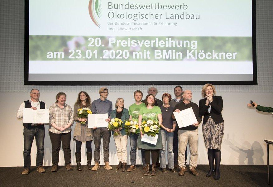 SOLAWI gewinnt Bundeswettbewerb Ökologischer Landbau 2020